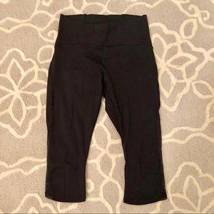 Lululemon | Train Times Crop Black Yoga Pants